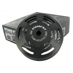 Колокол сцепления Stage6 R/T CNC, 500гр. Д.107мм, Piaggio/Gilera/Peugeot