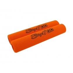 Грипсы на тормозные ручки Stage6.  Оранжевые
